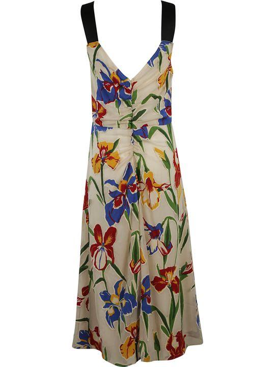 3f81b0283b Tory Burch Tory Burch Clarissa Dress - Painted iris - 10560532 | italist