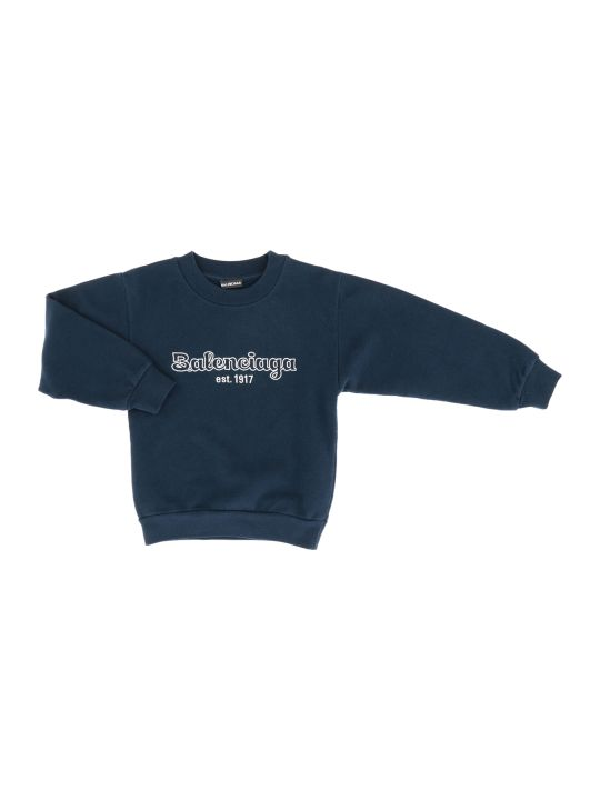 Balenciaga Crewneck Sweater Brushed Molleton Est.1917