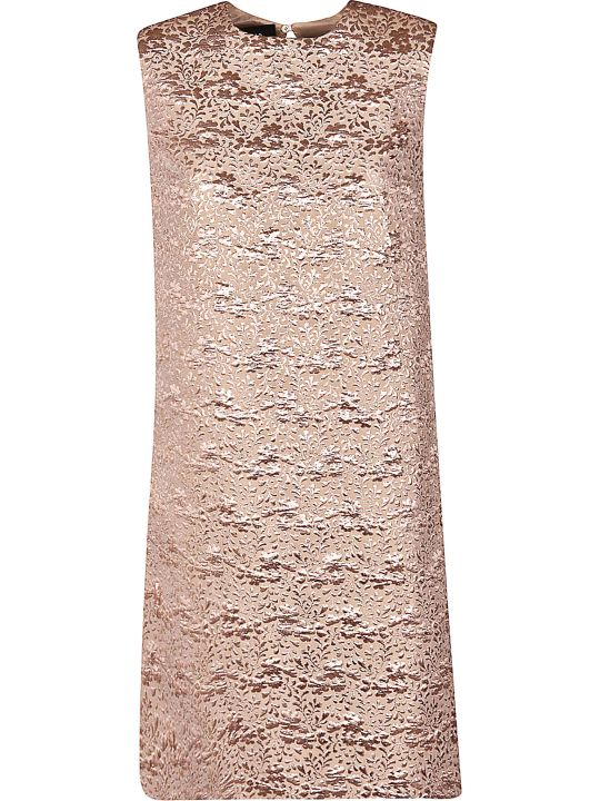 Rochas A-line Jacquard Dress