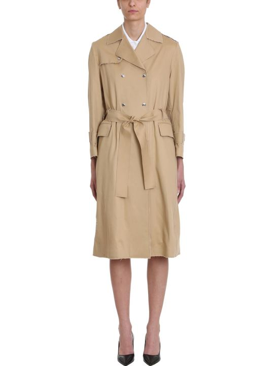 Thom Browne Belted Trench Overcoat