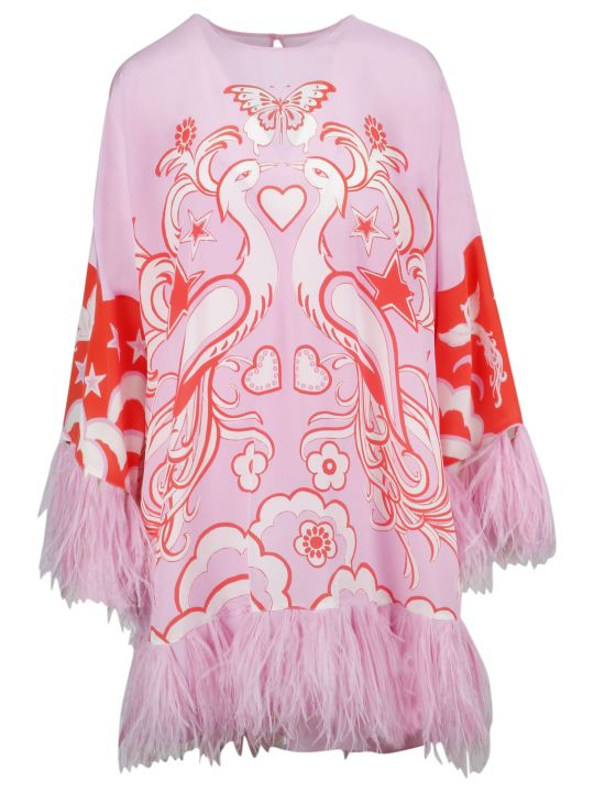 Valentino Printed Dress