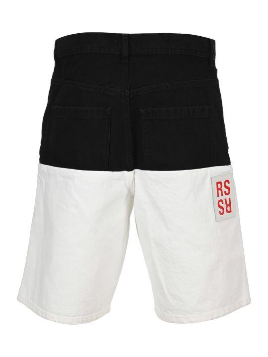 Raf Simons Two-toned Denim Shorts