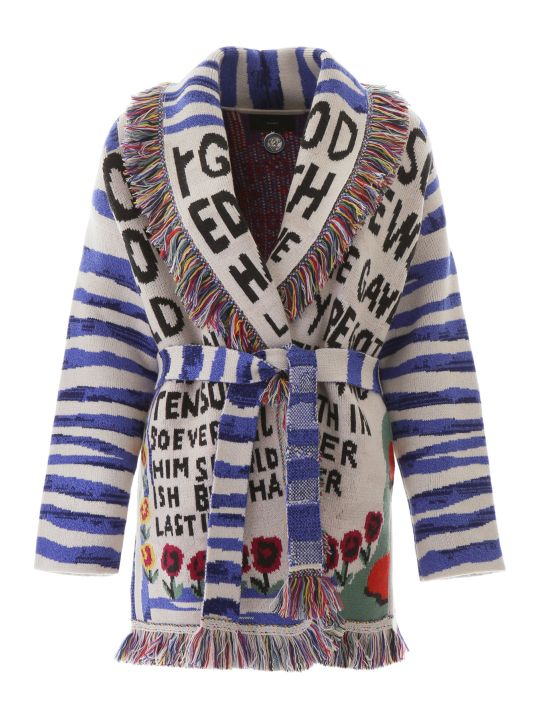 Alanui Salvation Mountain Cardigan