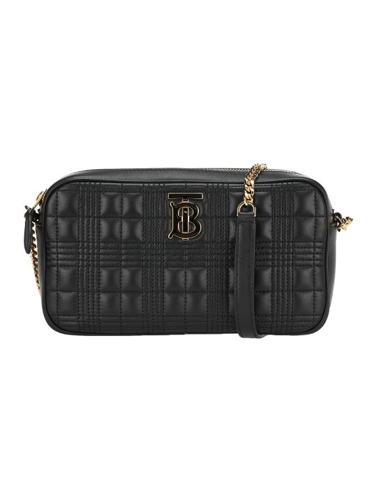 Burberry London Quilted Check Tb Camera Bag