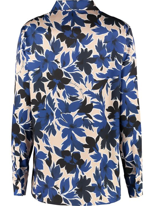 Boutique Moschino Floral Pattern Shirt