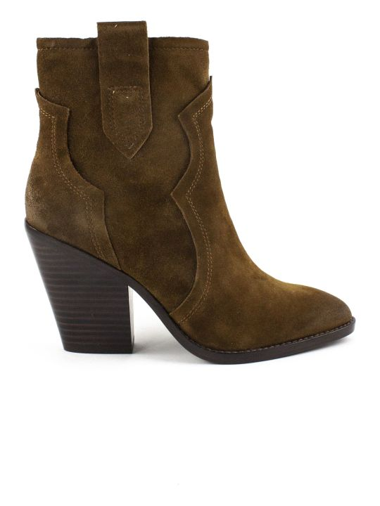 Ash Brown Esquire Ankle Boots