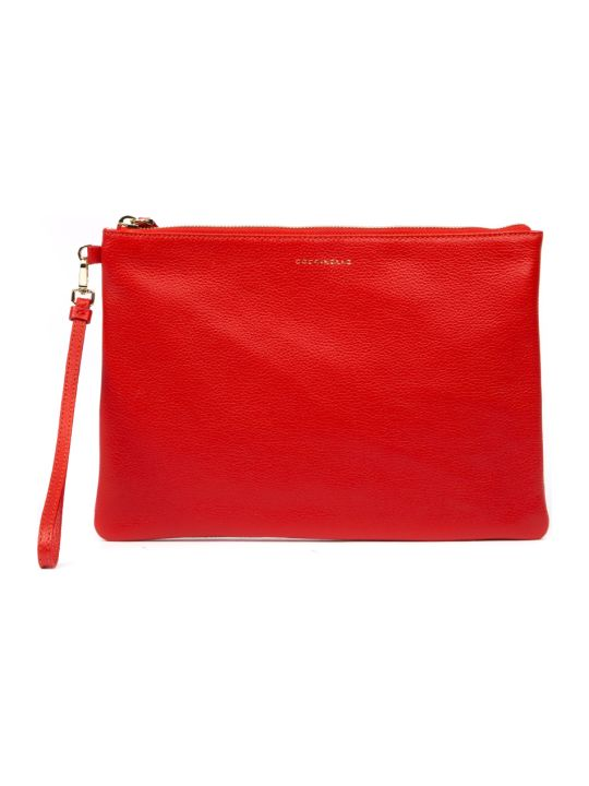 Coccinelle Red New Best Soft Leather Purse