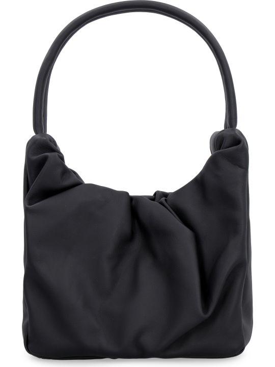 STAUD Felix Leather Shoulder Bag