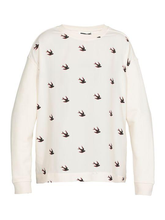 McQ Alexander McQueen Swallow Swarm Sweater
