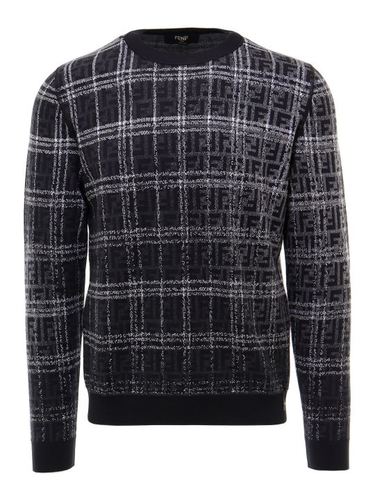 Fendi Girocollo Blurred Ff Sweater