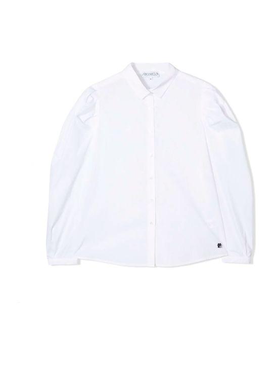 Simonetta Kids White Shirt