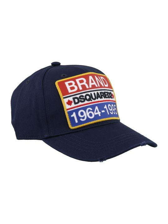 Dsquared2 Brand Patch Baseball Cap