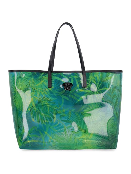 Versace Vinyl Shopper Bag