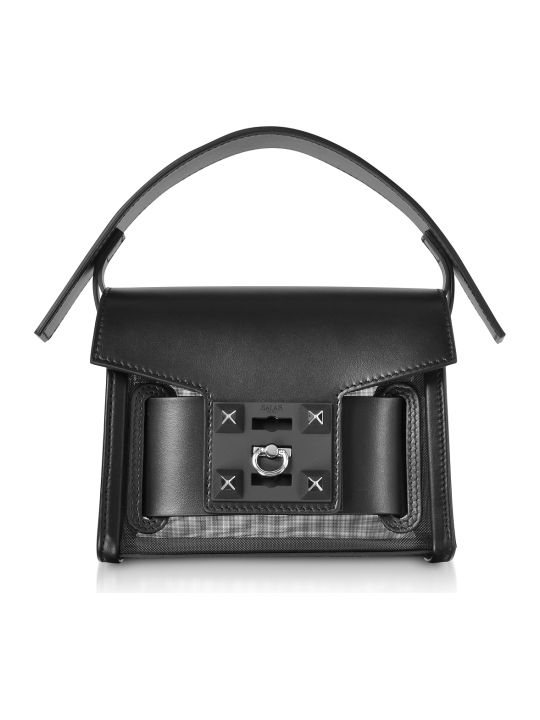 Salar Gaia Mesh Mini Crossbody Bag