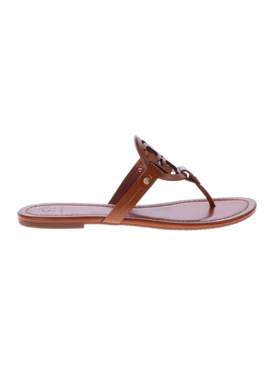 Tory Burch Brown Miller Sandals
