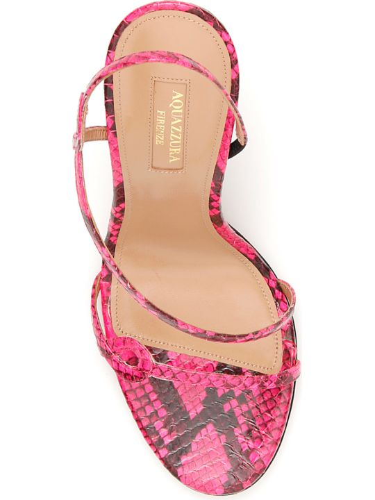 Aquazzura Serpentine 105 Sandals
