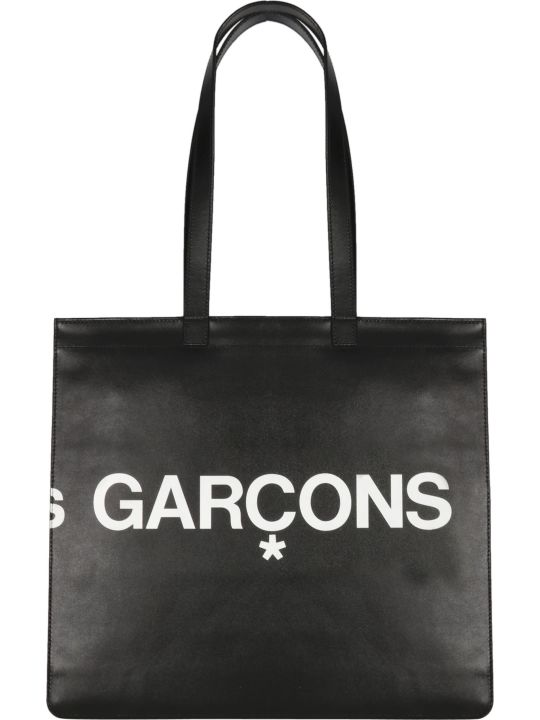 Comme des Garçons Huge Logo Shopping Bag