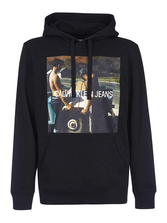 Calvin Klein Printed Hoodie