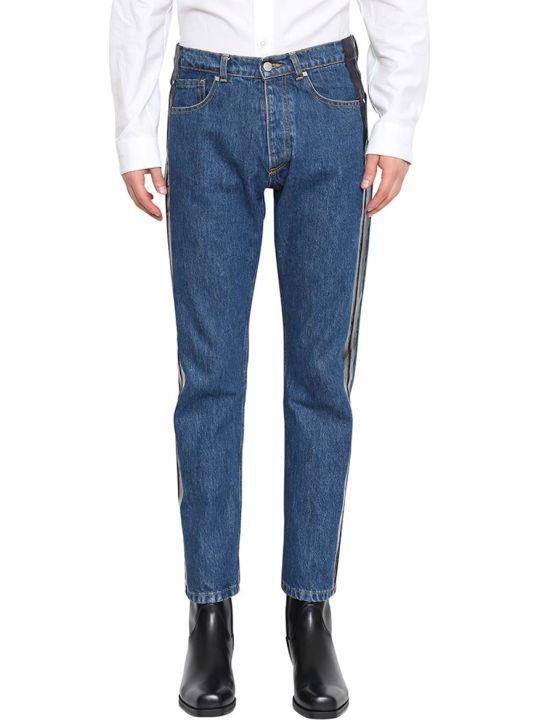 MISBHV Wet Print Cotton Denim Jeans