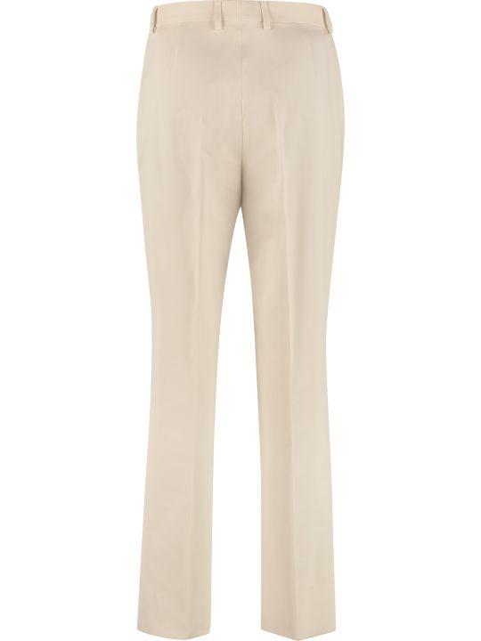 Salvatore Ferragamo Cotton Trousers