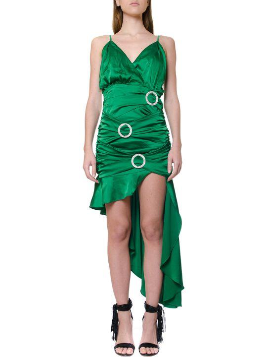 For Love & Lemons Embellished Buckles Draped Dress