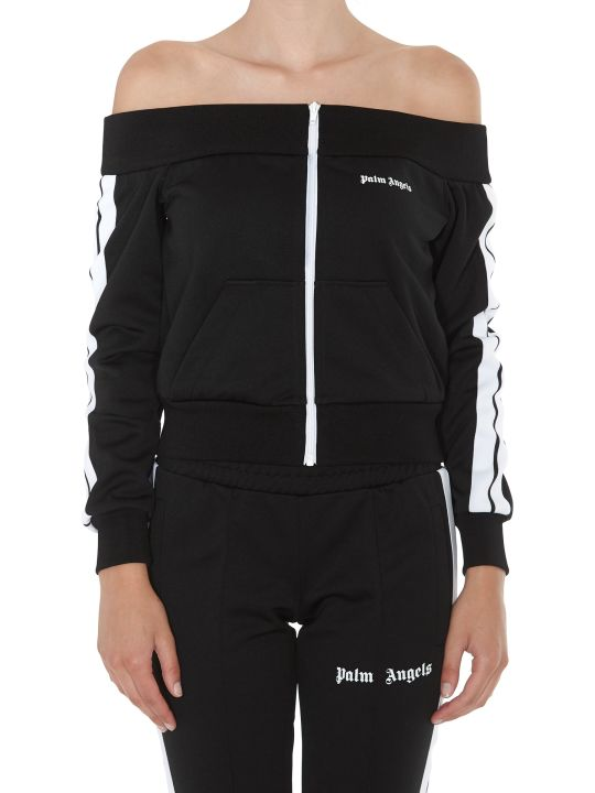 Palm Angels Off Shoulder Track Jacket