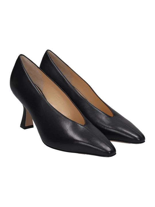 Fabio Rusconi Pumps In Black Leather