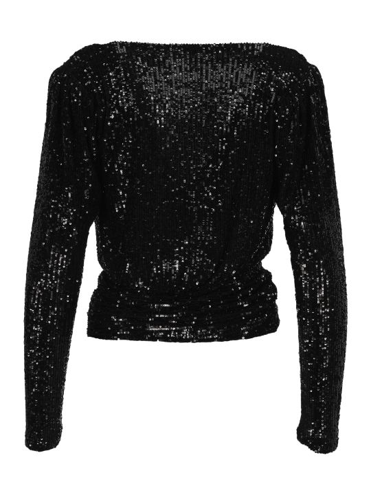 Saint Laurent Sequin Top