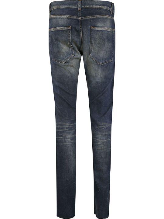 Saint Laurent Faded Detail Jeans