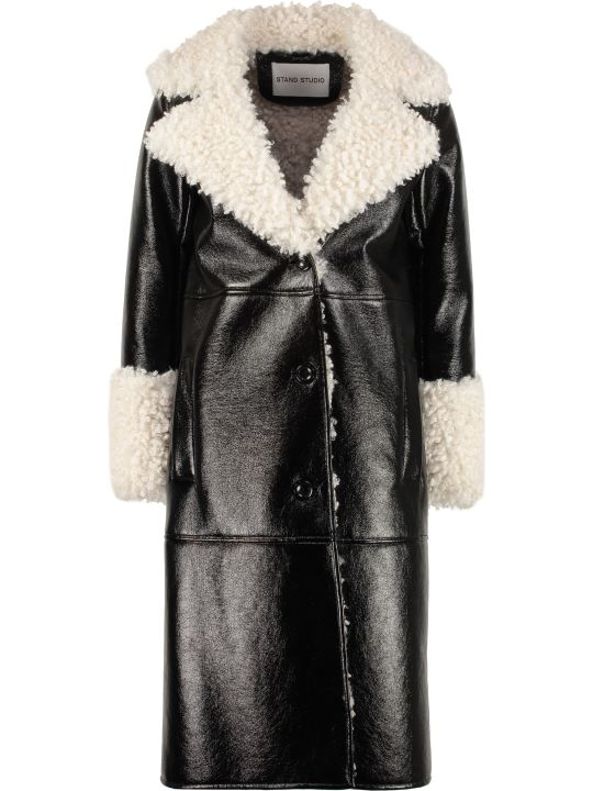 STAND STUDIO Linda Faux Fur Coat