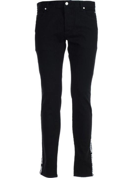 Balmain Logo Tape Jeans