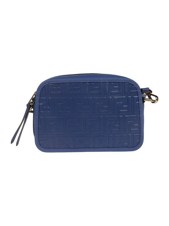 Fendi Ff Logo Shoulder Bag