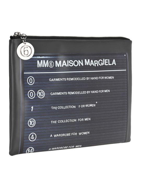MM6 Maison Margiela Mm6 Logo Pouch