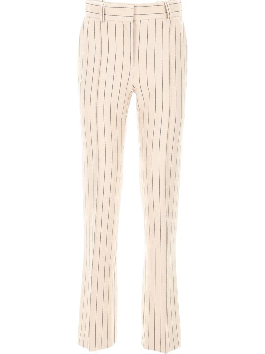 See by Chloé Pinstriped Trousers