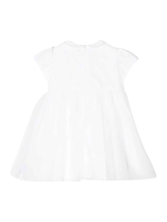 Il Gufo Kids White Dress