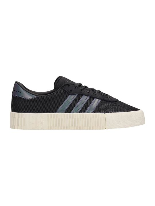 Adidas Black Technical Fabric Sambarose W Sneakers