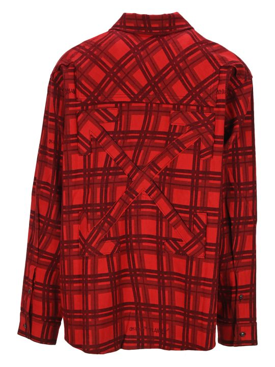 Off-White Off White Flannel Check Shirt