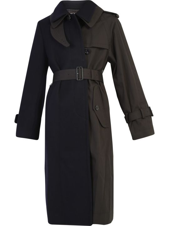 Sacai Two-tone Trench Coat