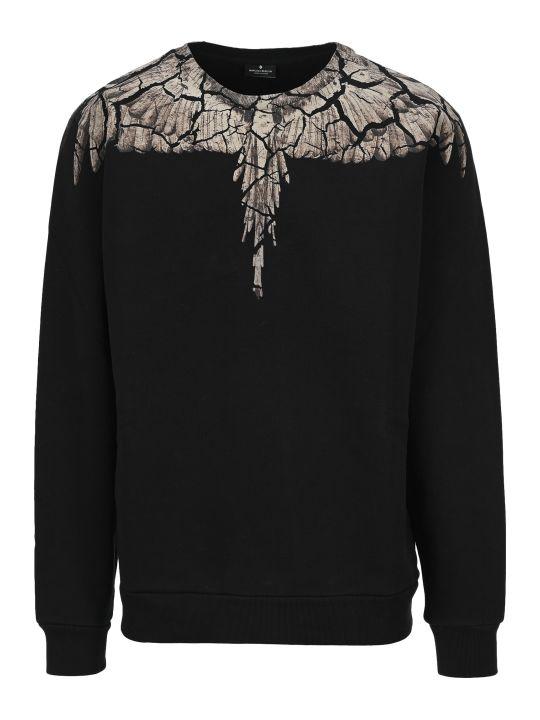Marcelo Burlon Earth Wings Print Sweatshirt