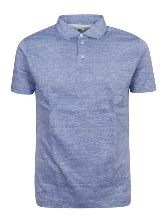 Luigi Borrelli Classic Buttoned Polo Shirt
