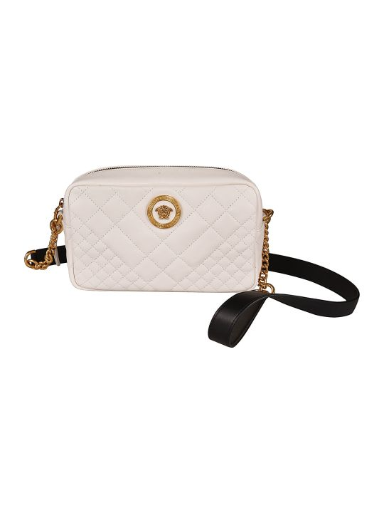 Versace Quilted Shoulder Bag