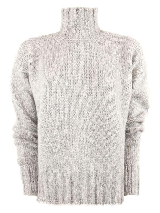 Dondup Grey Alpaca Sweater