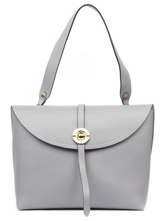 Coccinelle Endora Grey Leather Bag