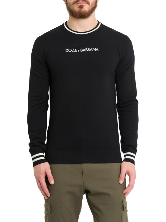Dolce & Gabbana Embroidered Logo Jumpers
