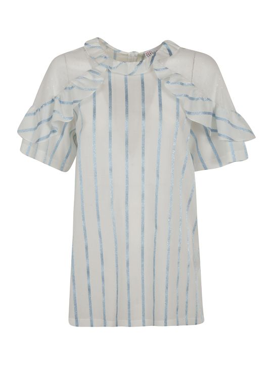 RED Valentino Striped Blouse