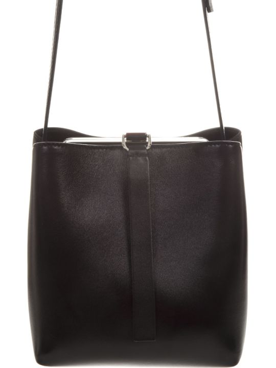 Proenza Schouler Black Leather Shoulder Bag