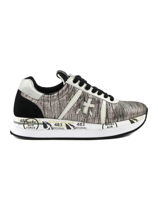 Premiata Conny Sneaker In Laminated Fabric
