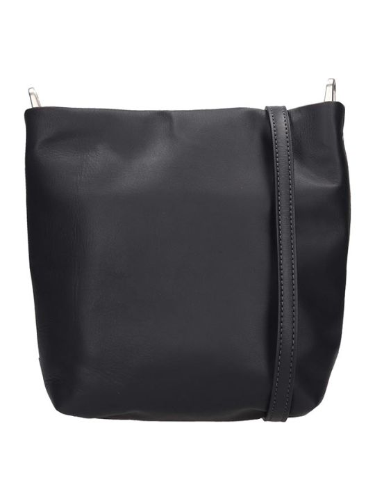 Rick Owens Small Adri Shoulder Bag In Black Leather