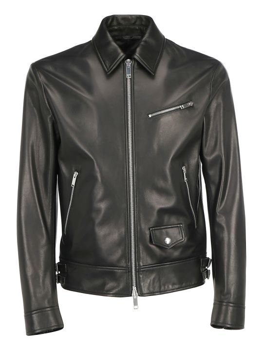 Valentino Leather Jacket