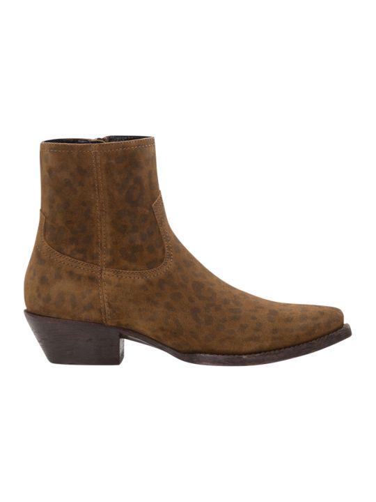 Saint Laurent Lukas Western Boots